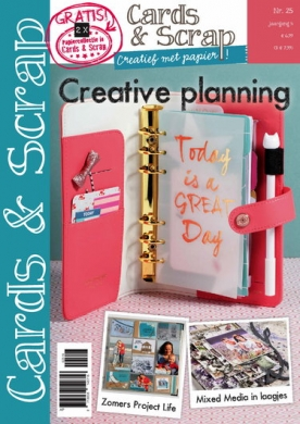 Cards & Scrap 25, iOS & Android  magazine