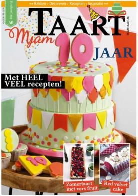 MjamTaart! 50, iOS & Android  magazine