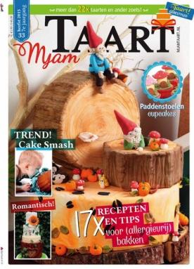 MjamTaart! 33, iOS & Android  magazine