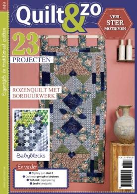 Quilt & Zo 49, iOS & Android  magazine