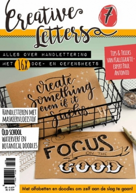 Creatieve Letters 7, iOS & Android  magazine