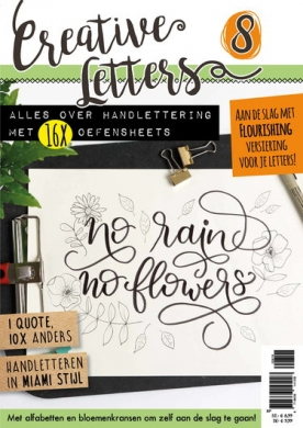 Creatieve Letters 8, iOS & Android  magazine