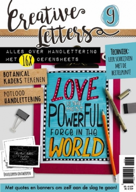 Creatieve Letters 9, iOS, Android & Windows 10 magazine