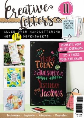 Creatieve Letters 11, iOS & Android  magazine