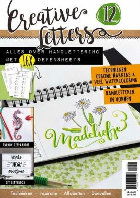 Creatieve Letters 12, iOS & Android  magazine