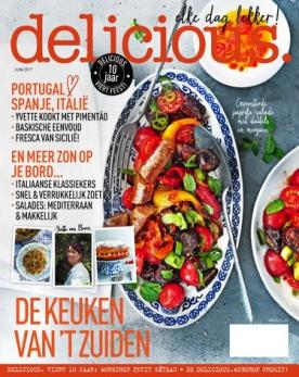 delicious 6, iOS & Android  magazine