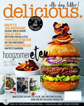 delicious 9, iOS & Android  magazine