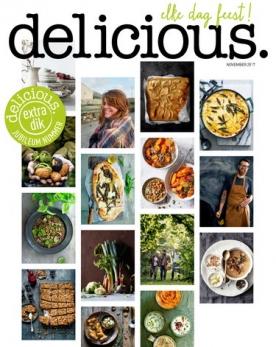 delicious 11, iOS & Android  magazine