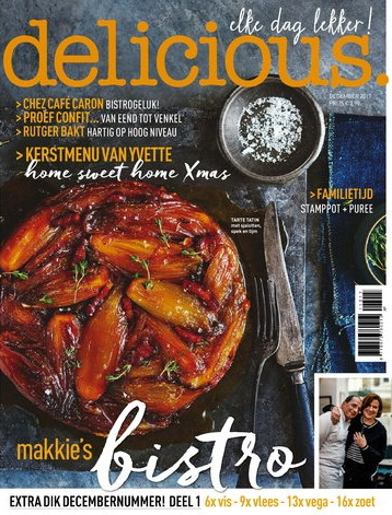 delicious 12, iOS & Android  magazine
