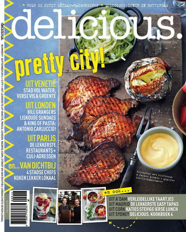 delicious 9, iOS & Android  magazine