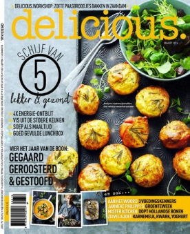 delicious 3, iOS & Android  magazine