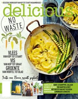 delicious 5, iOS & Android  magazine