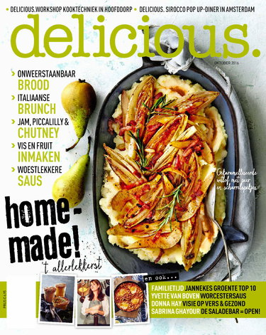delicious 10, iOS & Android  magazine