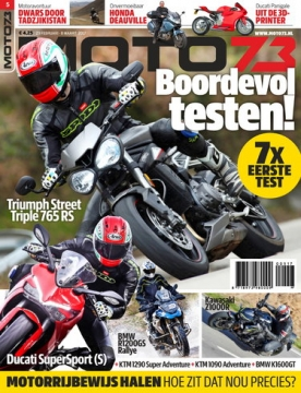 Moto73 5, iOS, Android & Windows 10 magazine