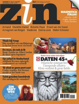 Zin 4, iOS & Android  magazine