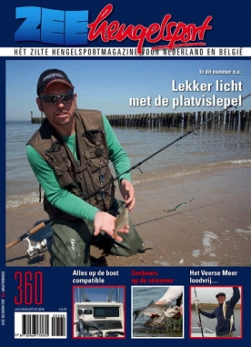 Zeehengelsport 360, iOS & Android  magazine