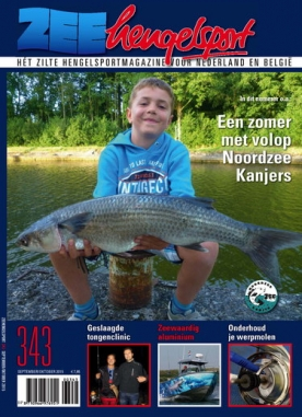 Zeehengelsport 343, iOS & Android  magazine