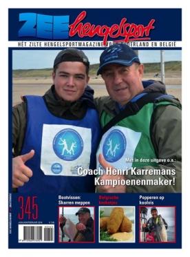 Zeehengelsport 345, iOS & Android  magazine