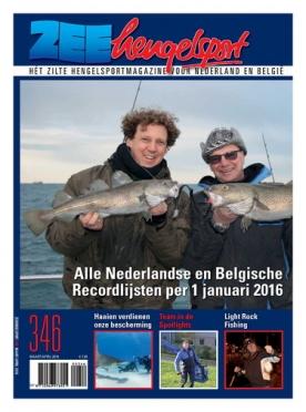 Zeehengelsport 346, iOS & Android  magazine