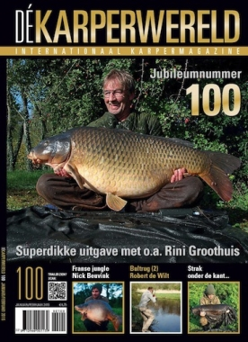 De Karperwereld 100, iOS & Android  magazine