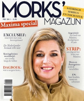 Morks' Magazijn 1, iOS & Android  magazine