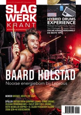 Slagwerkkrant 212, iOS & Android  magazine