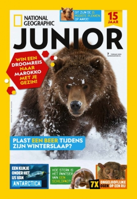 National Geographic Junior 7, iOS & Android  magazine
