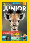 National Geographic Junior 8, iOS & Android  magazine