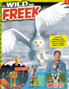 Wild van Freek 7, iOS & Android  magazine