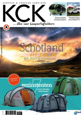 KCK 3, iOS & Android  magazine
