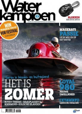 Waterkampioen 6, iOS & Android  magazine