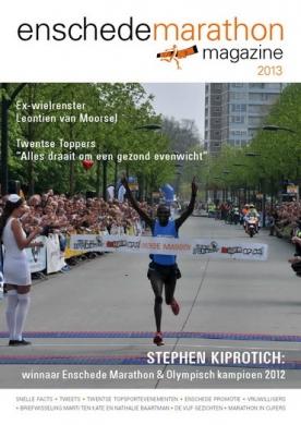Enschede Marathongids 2, iOS, Android & Windows 10 magazine