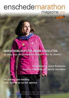 Enschede Marathongids 5, iOS & Android  magazine
