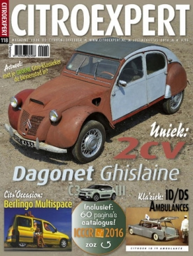Citroexpert 118, iOS & Android  magazine