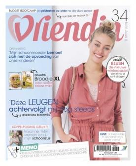 Vriendin 34, iOS & Android  magazine