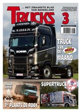 Trucks Magazine 3, iOS & Android  magazine