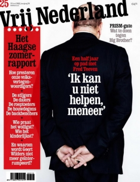 Vrij Nederland 25, iOS & Android  magazine