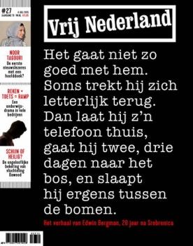 Vrij Nederland 27, iOS & Android  magazine