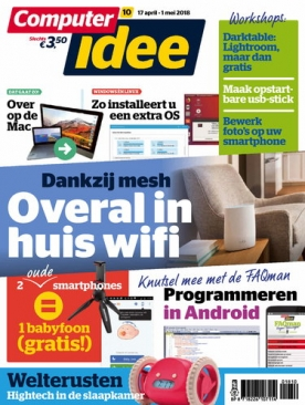 Computer Idee 10, iOS, Android & Windows 10 magazine