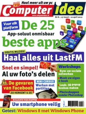 Computer Idee 8, iOS & Android  magazine