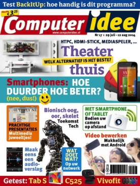 Computer Idee 17, iOS & Android  magazine