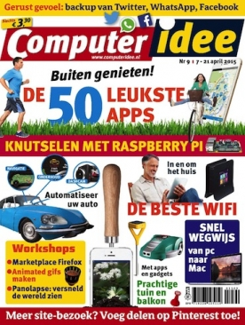 Computer Idee 9, iOS & Android  magazine