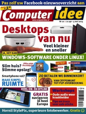 Computer Idee 10, iOS & Android  magazine