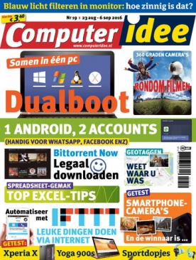 Computer Idee 19, iOS & Android  magazine