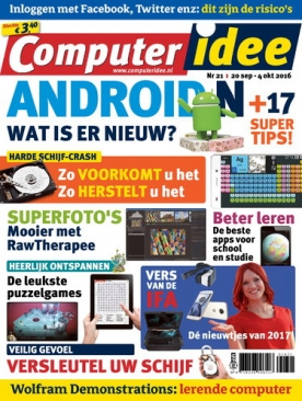 Computer Idee 21, iOS & Android  magazine