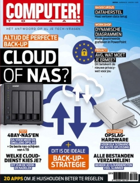 Computer Totaal 6, iOS, Android & Windows 10 magazine