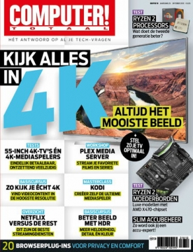Computer Totaal 10, iOS & Android  magazine