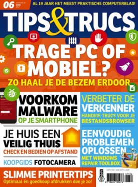 Tips&Trucs 6, iOS, Android & Windows 10 magazine