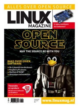 Linux Magazine 2, iOS & Android  magazine