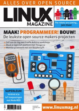 Linux Magazine 5, iOS, Android & Windows 10 magazine